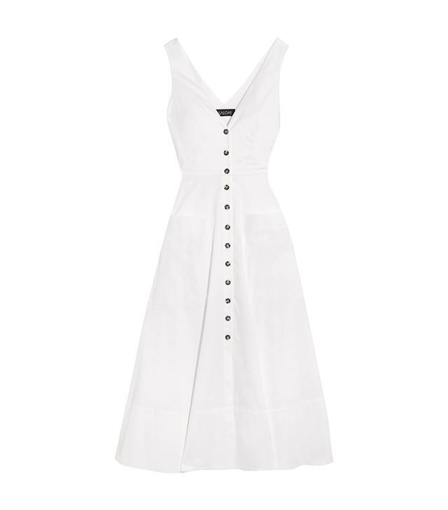 Zoe Cutout Cotton-blend Dress