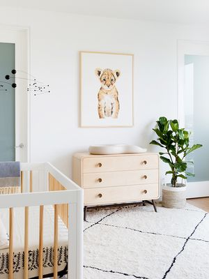 Tour an Adorable Animal-Themed Nursery in Southern California