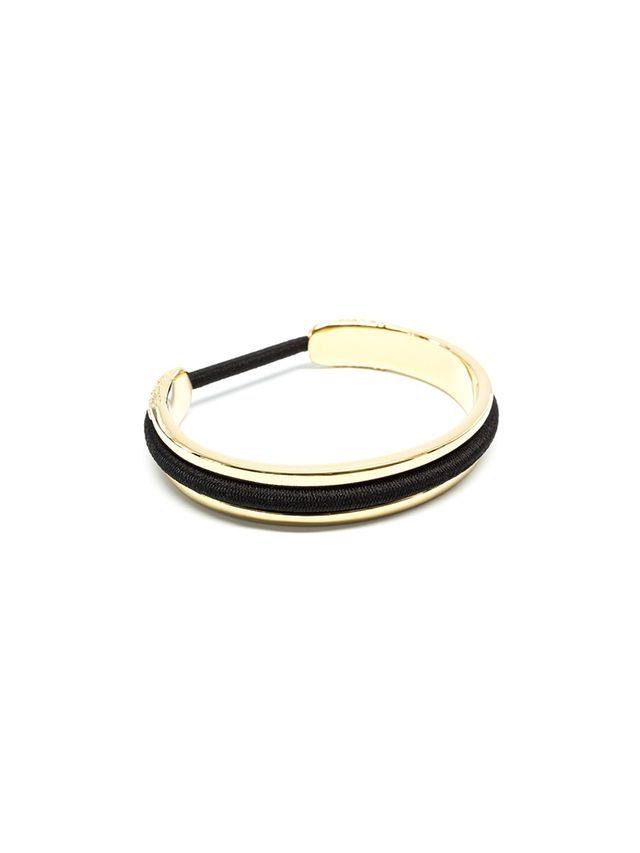 Fore Gold Hair Tie Bracelet