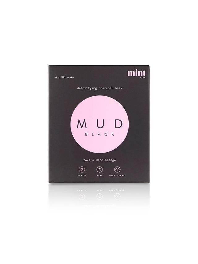 Mint Skin Mud Black Detoxifying Charcoal Mask
