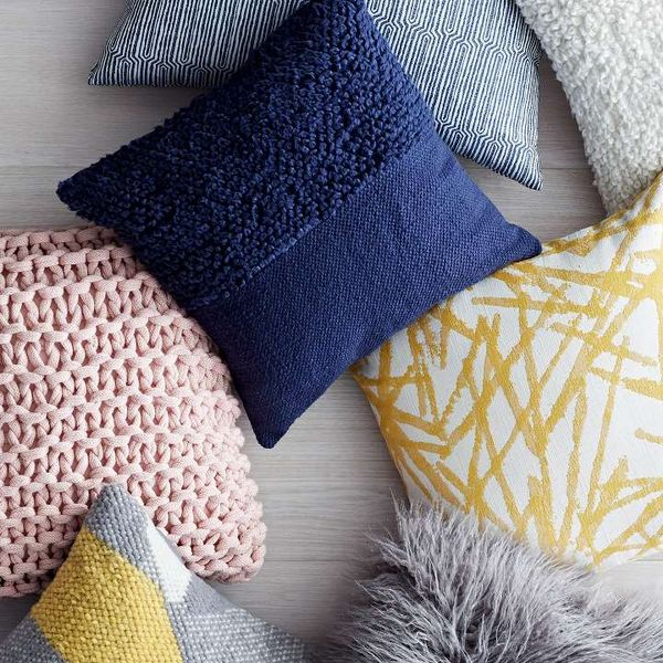 All throw pillows are $35 and under.