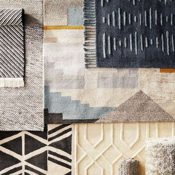 Unify a room with the line's chic rug offerings.