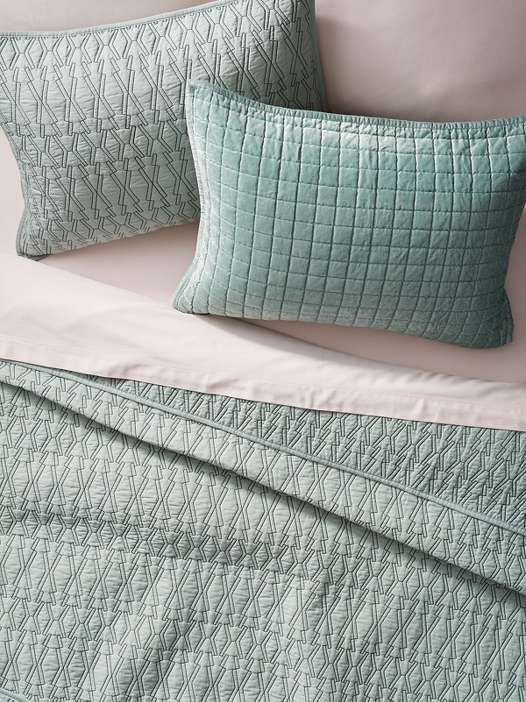 With an emphasis on texture, Project 62's colorful bedding will lull you to sleep (for just $20 and up).
