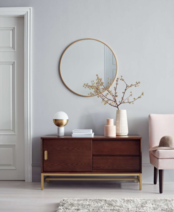 """Project 62dubs blush tones as """"the new neutral"""" at home."""