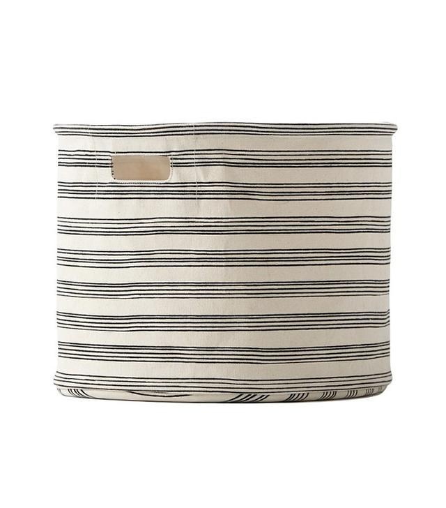 Pehr Designs Stripe Drum Bin