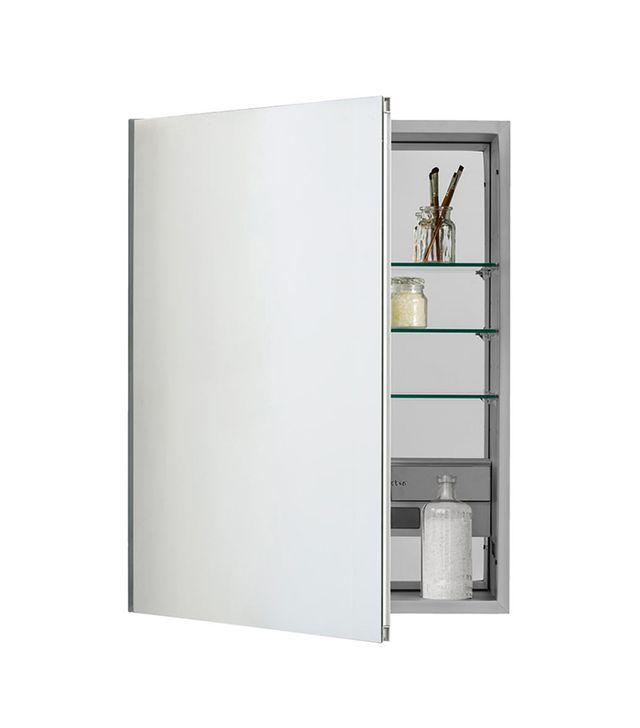Inset Unbeveled Electric Medicine Cabinet