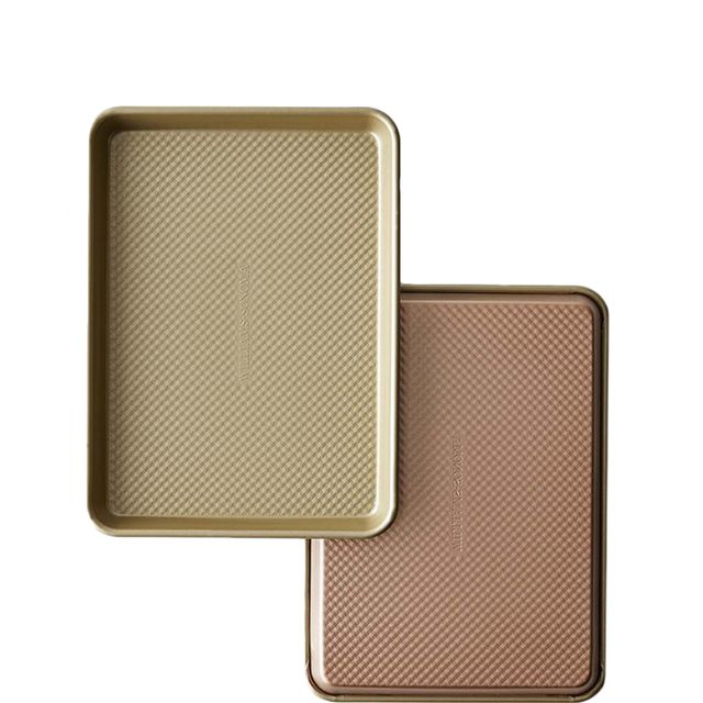 Williams-Sonoma Copper Goldtouch(R) Nonstick Quarter Sheet Pans