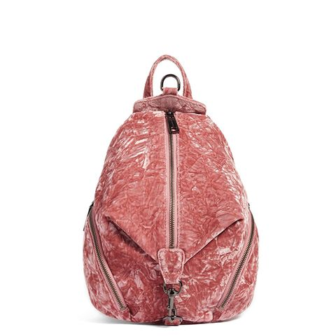 Medium Julian Velvet Backpack