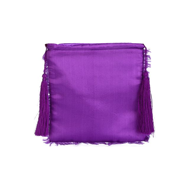Attico Fringed Clutch