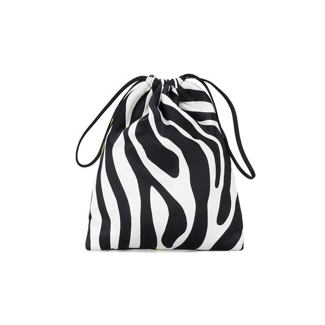 Attico Tulip and Zebra Print Mini Pouch