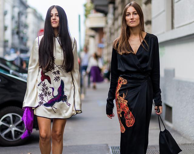 Style Drawstring Silk Pouches