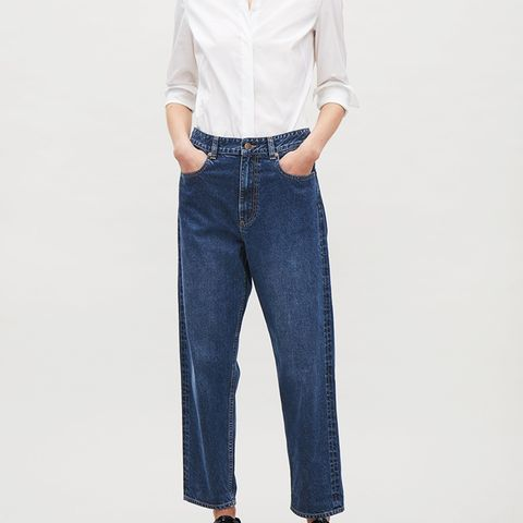 Selvage Straight Leg Jeans