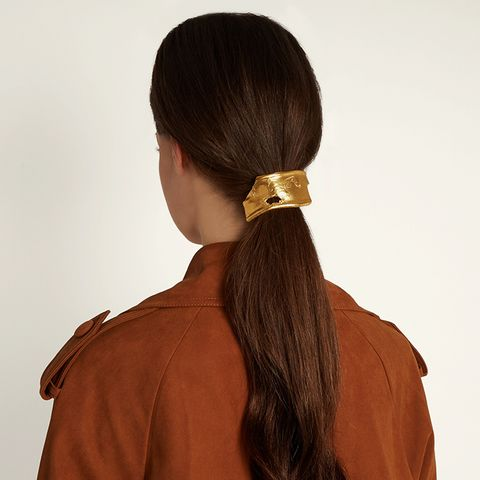 The Overthinker Gold Hair Tie