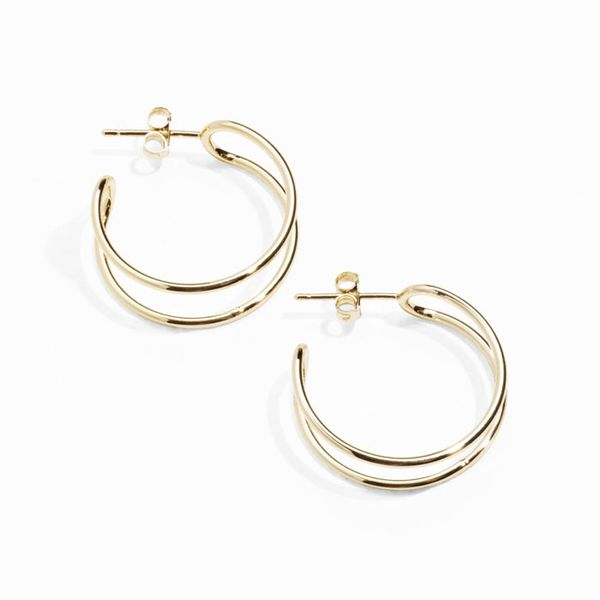 & Other Stories Tubular Wire Hoops