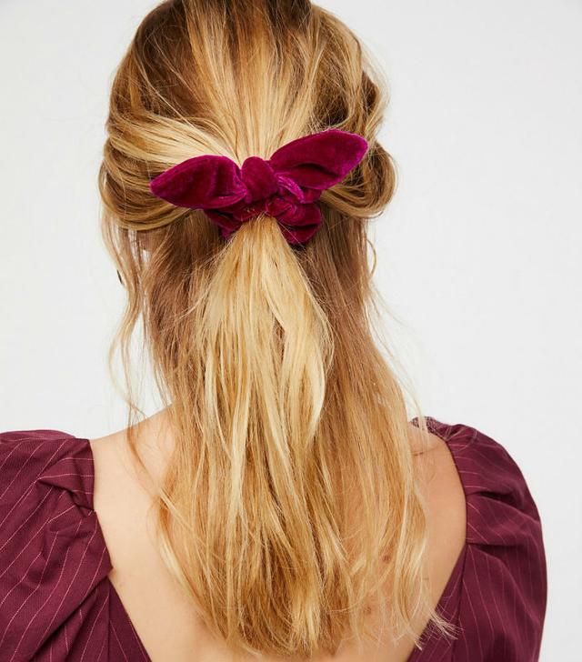 Best scrunchies: Free People velvet