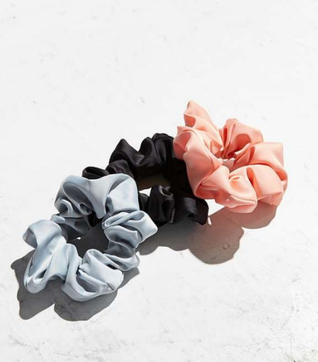 Urban Outfitters Satin Scrunchie Pack