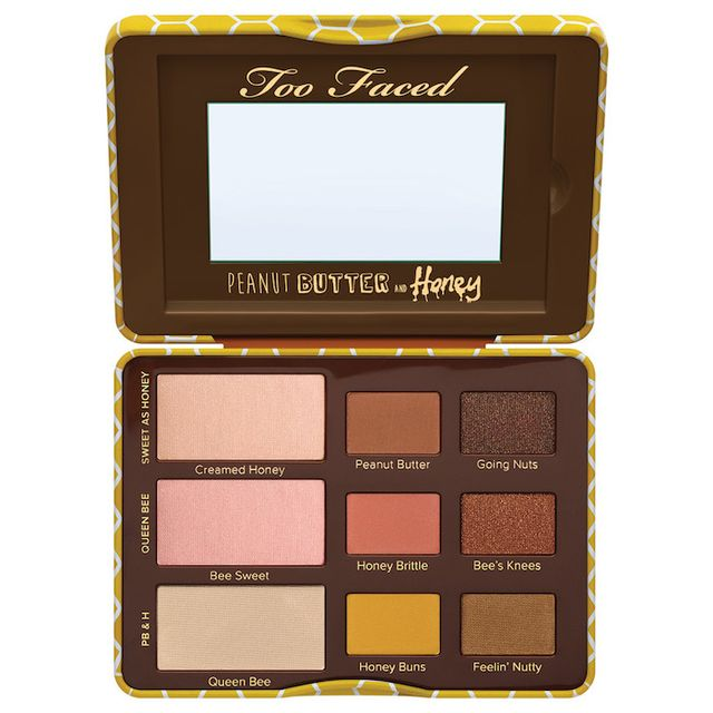 Too Faced Peanut Butter and Honey Eyeshadow Collection