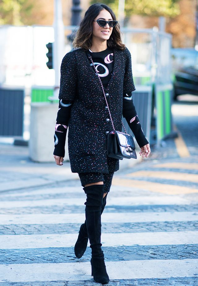 Style Notes: If there's one obvious functional and chic boot trend we're into this season, it's over-the-knee boots. Not only do they cover you up in a sassy way, but they also look...