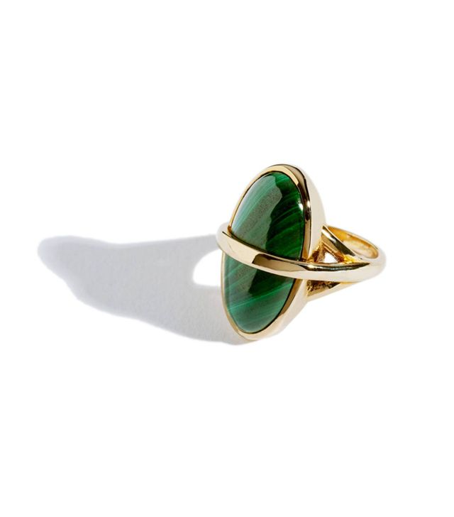Crystal jewellery trend:  Pamela Love Stratum Ring