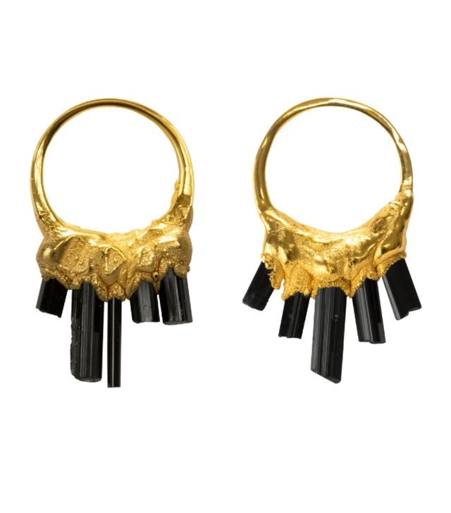 Crystal jewellery trend:  Olivia Creber earrings