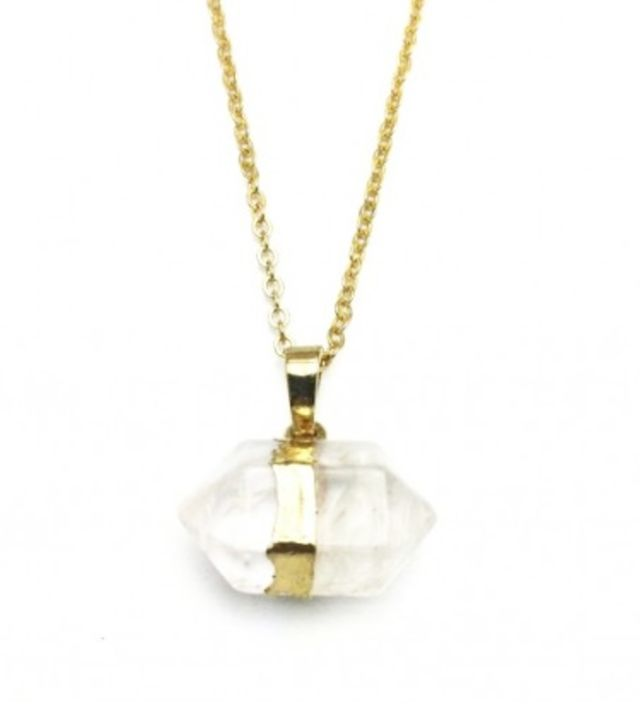 ZT Crystal Quartz Necklace
