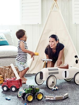 Permission to Faint Over Lucy Liu's Adorable Playroom