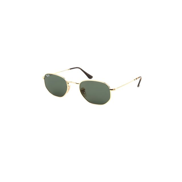 Ray-Ban Hexagonal Metal Flat Lenses
