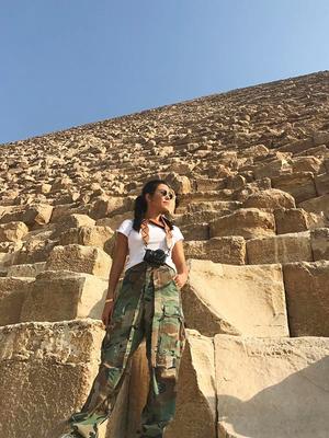 We're Living Vicariously Through Kourtney Kardashian's Stunning Egypt Photos