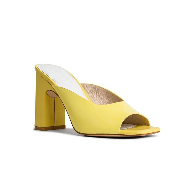 Miss Crabb Heaven Shoe in Limoncello