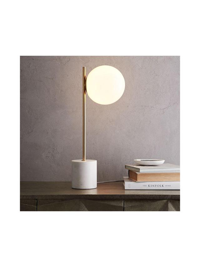 West Elm Sphere + Stem Table Lamp