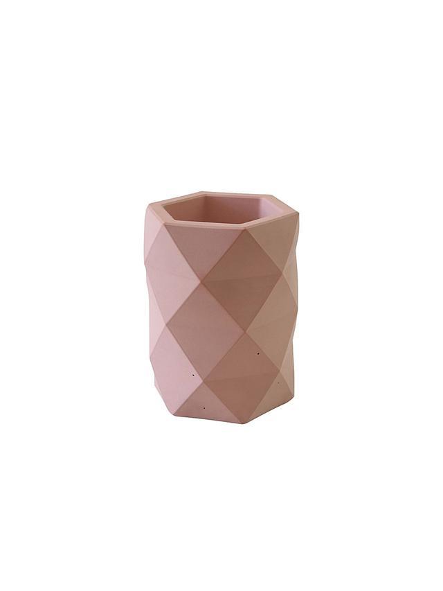 Concrete Homewares Kathi Geometric Vase