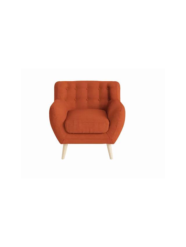 Brosa Shelly Armchair in Burnt Orange