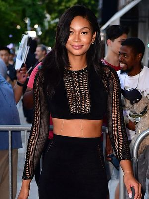 Chanel Iman's Answer to Summer-to-Fall Date-Night Style