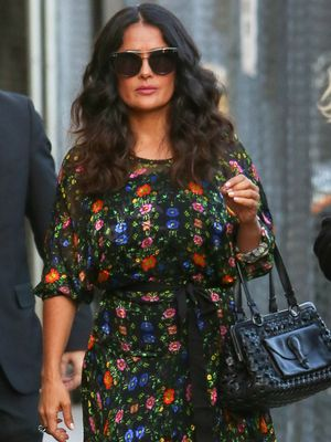 We're So Jealous of Salma Hayek's Gucci Shoe Collection