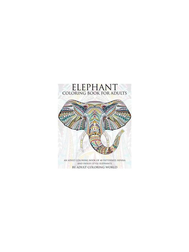 Elephant Coloring Book for Adults by Adult Coloring World