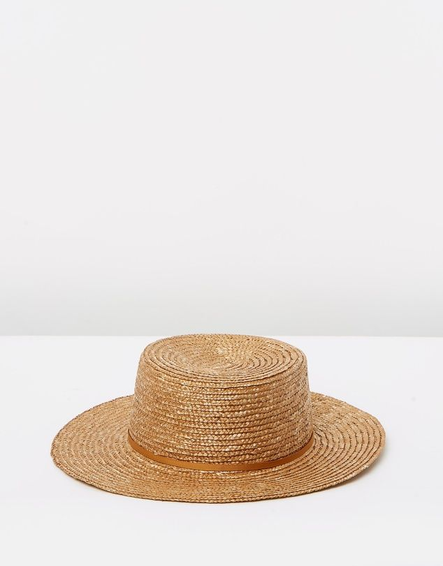 66 The Label Straw Hat