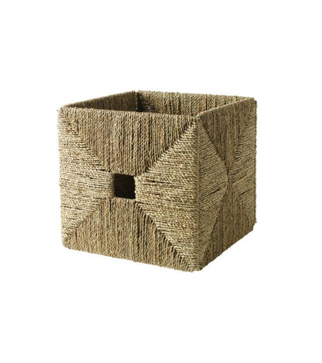 IKEA Knipsa Seagrass Basket