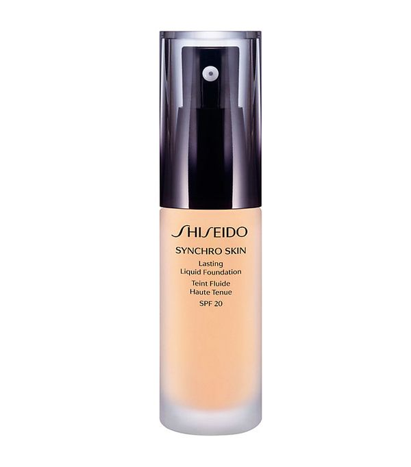 Full coverage foundation: Shiseido Synchro Skin Lasting Liquid Foundation SPF20