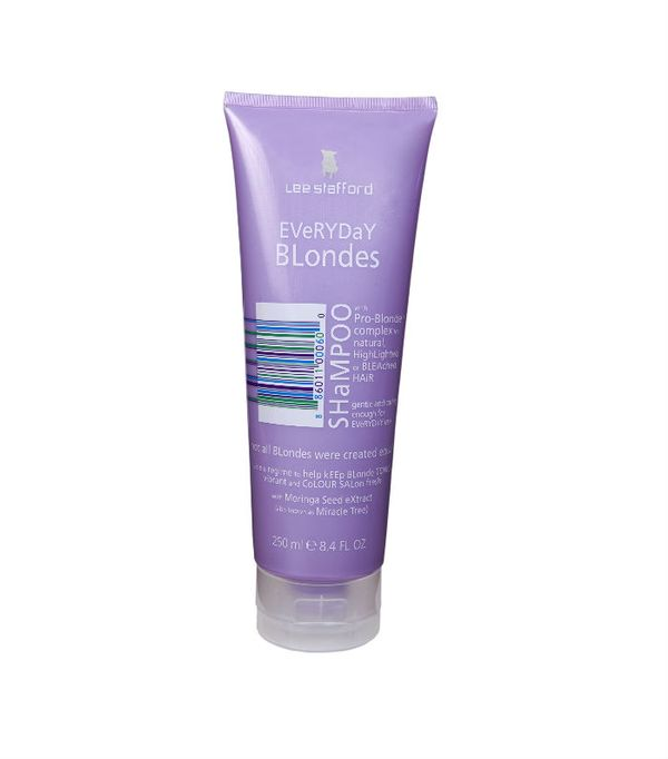 best purple shampoos: Lee Stafford Everyday Blondes Shampoo