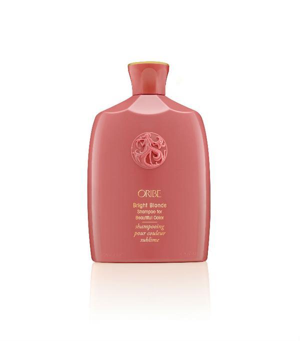 best purple shampoos: Oribe Bright Blonde Shampoo