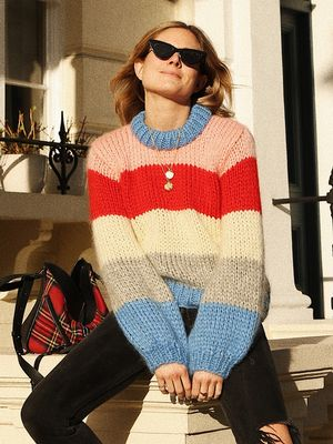Thanks to This Ganni Knit, Our Rainbow Jumper Cravings Are Staying Put