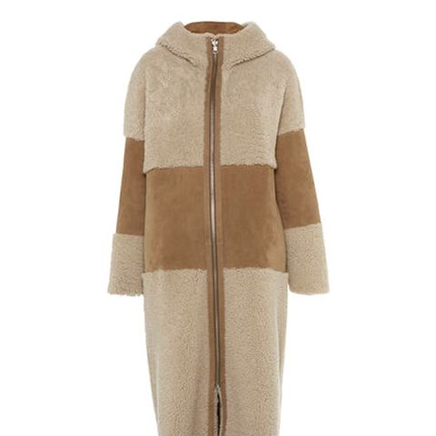 Shop The Best Shearling Coats For A W 17 Whowhatwear Uk