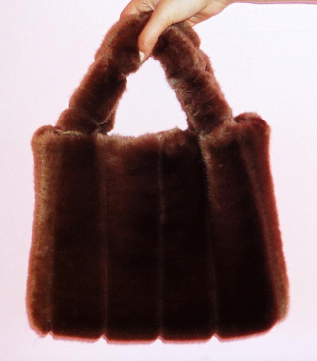 Best furry bags: Staud