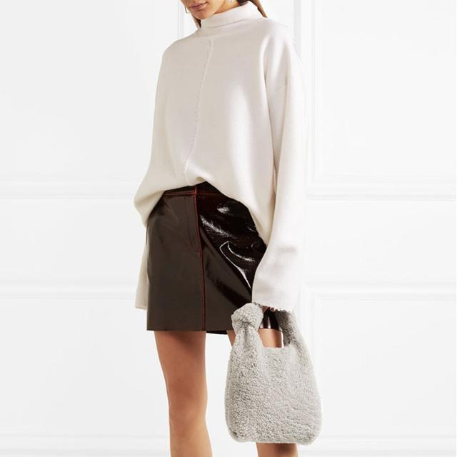 Best furry bags: Zara