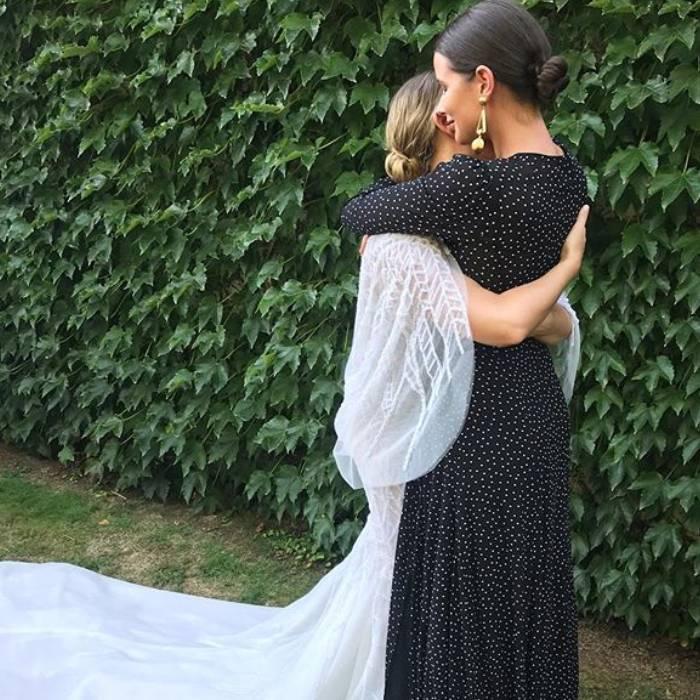 can you wear black to a wedding: harperandharley wearing black at a wedding
