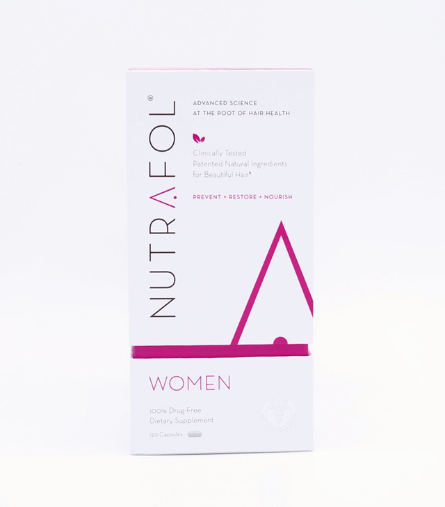 nutrafol Advanced Thinning Hair & Hair Loss Supplement - hairstyles for thin hair