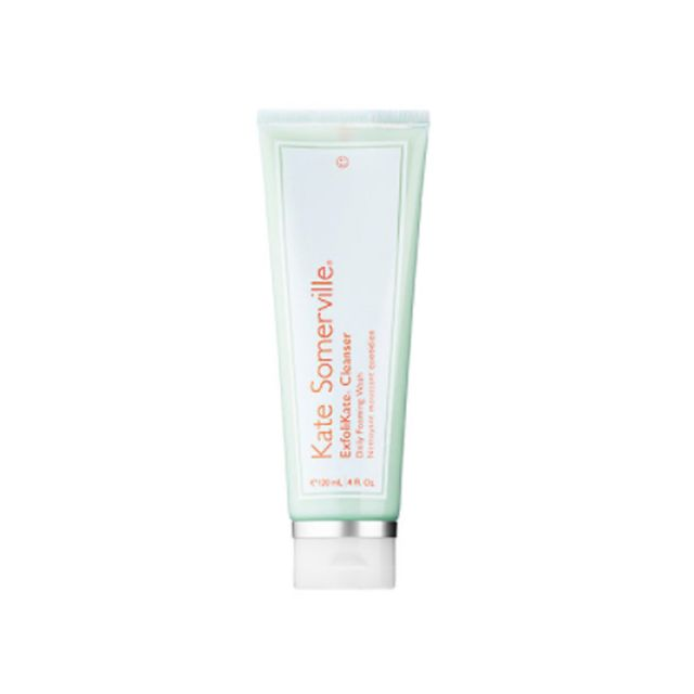 Kate Somerville ExfoliKate® Cleanser Daily Foaming Wash - how to take care of eyelash extensions