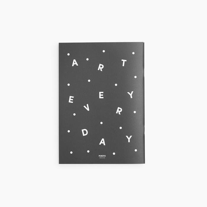 Art Everyday Notebook by Poketo