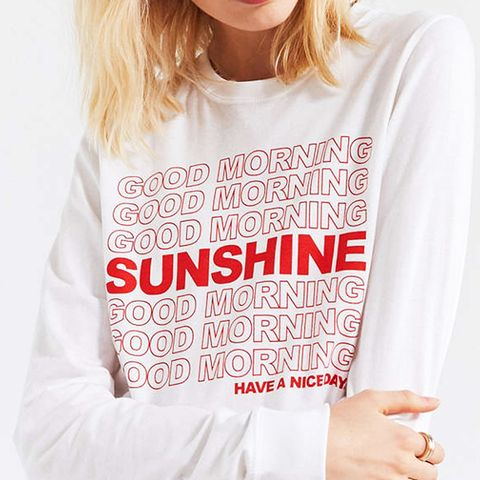 Good Morning Sunshine Long Sleeve Tee