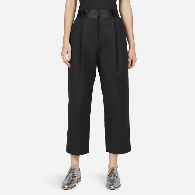 Women's E2 Wide-Leg Crop Pant by Everlane in Black, Size 4